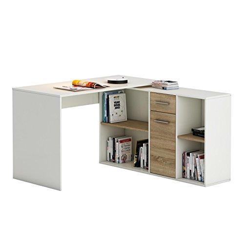 ordnung und mehr bersicht mit dem eckschreibtisch von caro m bel. Black Bedroom Furniture Sets. Home Design Ideas
