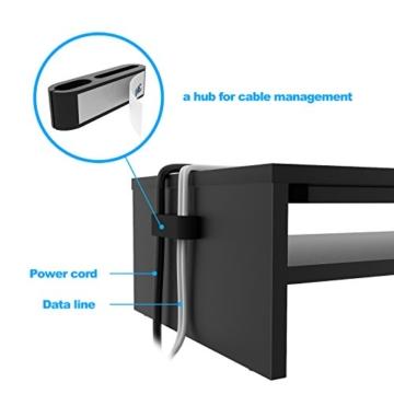 1home Bildschirmständer Notebooktisch Notebookständer Laptopständer Computertisch -
