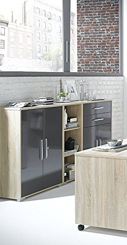arbeitszimmer komplett set maja system 1203 b rom bel in. Black Bedroom Furniture Sets. Home Design Ideas