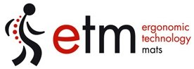 etm® Bodenschutzmatte - 120x90cm | TÜV und Blauer Engel | transparent, für Laminat, Parkett, Fliesen und Hartböden -