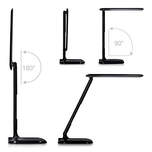 kwmobile led schreibtischlampe dimmbare lampe tischlampe mit usb ladefunktion schreibtisch. Black Bedroom Furniture Sets. Home Design Ideas