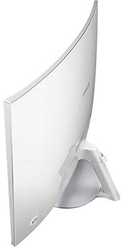 Samsung C27F591F 68,6 cm (27 Zoll) Monitor (HDMI, 4ms Reaktionszeit, 1920 x 1080 Pixel) silber/weiß - 13