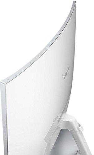 Samsung C27F591F 68,6 cm (27 Zoll) Monitor (HDMI, 4ms Reaktionszeit, 1920 x 1080 Pixel) silber/weiß - 14