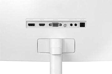Samsung C27F591F 68,6 cm (27 Zoll) Monitor (HDMI, 4ms Reaktionszeit, 1920 x 1080 Pixel) silber/weiß - 9