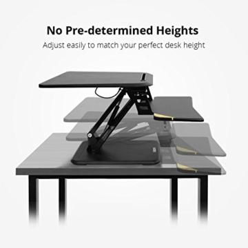FLEXISPOT F3W Höhenverstellbarer Schreibtisch Sitz-Steh-Schreibtisch Steharbeitsplatz Computertisch Weiß - 2