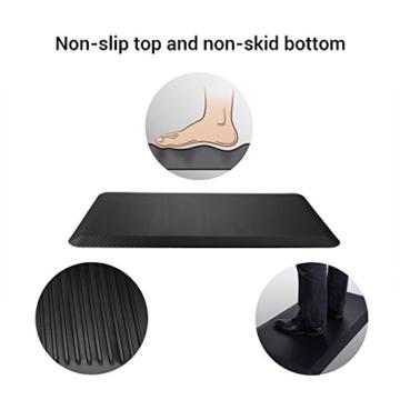 Flexispot MT1B Antimüdigkeits Komfortmatte Steh-Bodenmatte ergonomische Matte für Arbeitsplätze,Stehschreibtische, Küchen, Bad Anti-Ermüdungsschicht 100cm x 51cm x2cm - 3