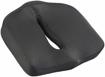 newgen medicals Autositzkissen: Ergonomisches Memory-Foam-Sitzkissen für Auto, Schreibtisch u.v.m. (Sitzpolster) - 2