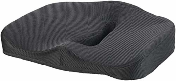 newgen medicals Autositzkissen: Ergonomisches Memory-Foam-Sitzkissen für Auto, Schreibtisch u.v.m. (Sitzpolster) - 3