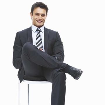 riijk Gel Sitzkissen, Ringkissen mit kühlender Gelschicht: wohltuender Sitzring, Sitzerhöhung aus Spezialschaum - 5