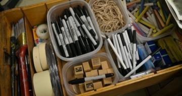 Schreibtischschubladen Organizer