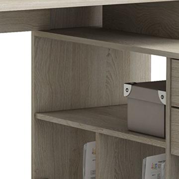 habeig Eck-Schreibtisch #204 Shannon Eiche Honig- Schreibtisch PC-Tisch Eckschreibtisch - 5
