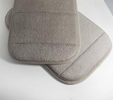 2 Stück Tragbar Handgelenkauflagen Handgelenks Pad, Ergonomische Handballenauflage Ellbogen Pad mit Memory-Schaum, Entlastung des Handgelenks Ellenbogen Pad (7,9 x 11,8 Zoll) (Khaki) - 4