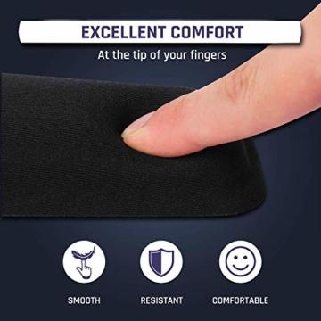 KLIM Keyboard Handballenauflage - Neue 2020 – Premium Qualität - Verhindert Sehnenscheidenentzündungen – Maximaler Komfort - 2