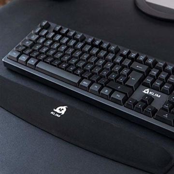KLIM Keyboard Handballenauflage - Neue 2020 – Premium Qualität - Verhindert Sehnenscheidenentzündungen – Maximaler Komfort - 4