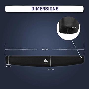 KLIM Keyboard Handballenauflage - Neue 2020 – Premium Qualität - Verhindert Sehnenscheidenentzündungen – Maximaler Komfort - 8