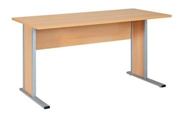 Büroeinrichtung Büromöbel Büro Buche hell Eckschreibtisch Bürocontainer Aktenschrank Regal Schreibtisch (Eckschreibtisch mit Container) - 3