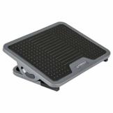EUREKA ERGONOMIC Fußstütze Verstellbar Fußauflage mit Massagefläche Büro Schreibtisch Fußbank für Büro und Zuhause Schwarz und Grau - 1
