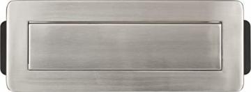 Brennenstuhl Indesk Power USB-Charger Tischsteckdosenleiste / Versenkbare Steckdose 3-fach (2 USB Ladebuchsen, 2m Kabel) silber/schwarz - 11