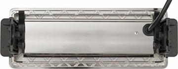 Brennenstuhl Indesk Power USB-Charger Tischsteckdosenleiste / Versenkbare Steckdose 3-fach (2 USB Ladebuchsen, 2m Kabel) silber/schwarz - 7