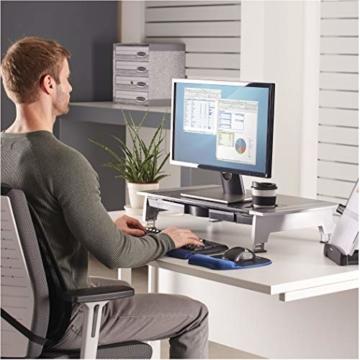 Fellowes 8031001 Office Suites Premiummonitorständer schwarz/silber - 2