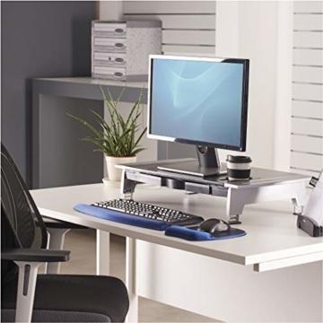 Fellowes 8031001 Office Suites Premiummonitorständer schwarz/silber - 5