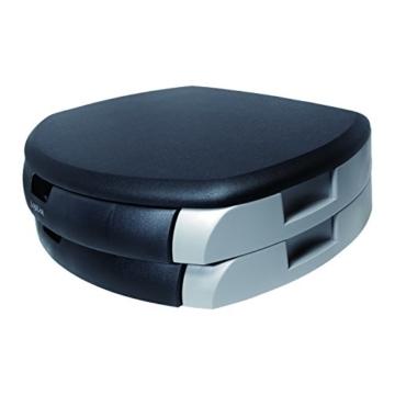 LogiLink® Bildschirm- und Druckerständer mit Stabiler Holzplatte (2cm Dicke) mit 2X Schubladen - 3