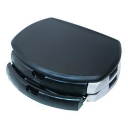 LogiLink® Bildschirm- und Druckerständer mit Stabiler Holzplatte (2cm Dicke) mit 2X Schubladen - 1