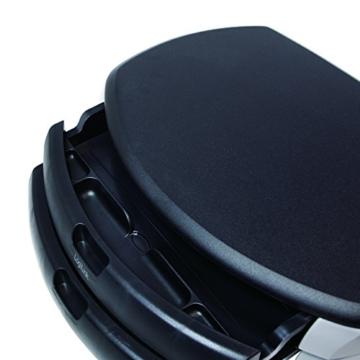 LogiLink® Bildschirm- und Druckerständer mit Stabiler Holzplatte (2cm Dicke) mit 2X Schubladen - 5