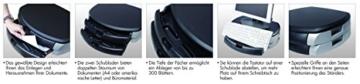 LogiLink® Bildschirm- und Druckerständer mit Stabiler Holzplatte (2cm Dicke) mit 2X Schubladen - 7