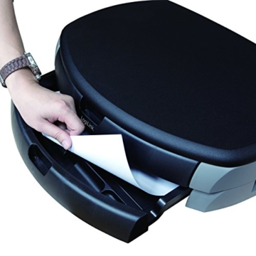 LogiLink® Bildschirm- und Druckerständer mit Stabiler Holzplatte (2cm Dicke) mit 2X Schubladen - 9