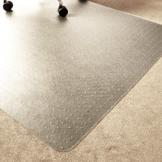 Marvelux ECO (Polymer) Bodenschutzmatte für Teppichböden | 150 x 120 cm | rechteckig | transparent | in verschiedenen Größen erhältlich - 1
