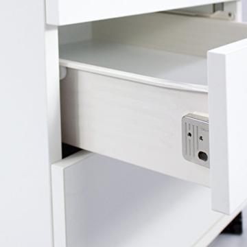 Profi Optima Rollcontainer 60cm tief weiß Rollschrank Büro Container Schrank - 4