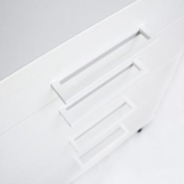 Profi Optima Rollcontainer 60cm tief weiß Rollschrank Büro Container Schrank - 7