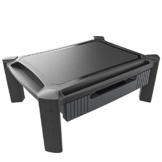 PUTORSEN® Monitorständer Höhenverstellbar mit Schublade, Telefonschlitz, Kabelmanagement für Computer, Laptops, Drucker, Bildschirm bis zu 10 kg - 1
